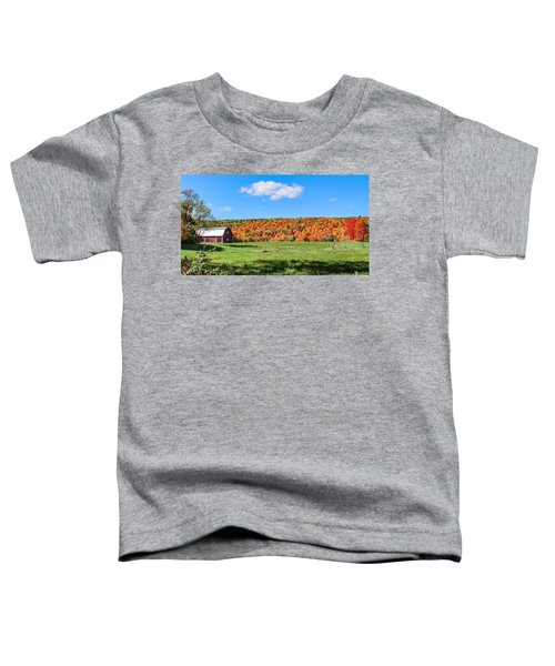 Farm View From Russellville Road Toddler T-Shirt