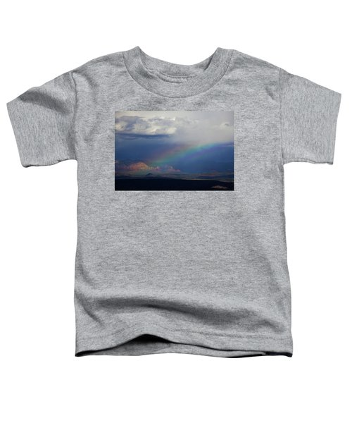 Fat Rainbow, Sedona Az Toddler T-Shirt