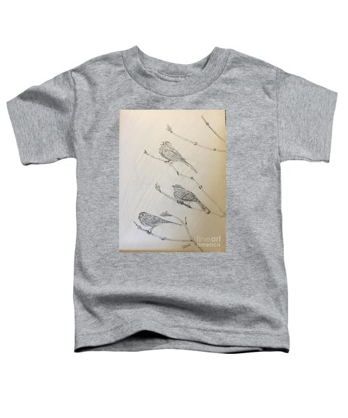 Feathers Friends Toddler T-Shirt
