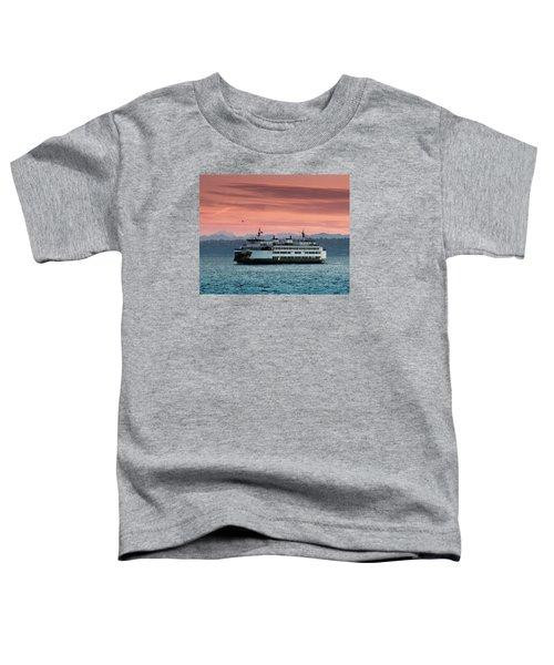 Ferry Cathlamet At Dawn.1 Toddler T-Shirt