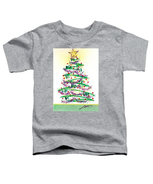 Festive Holiday Toddler T-Shirt