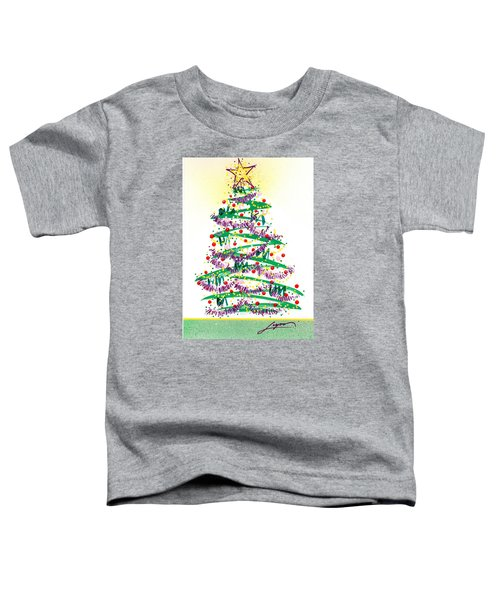 Festive Holiday Toddler T-Shirt