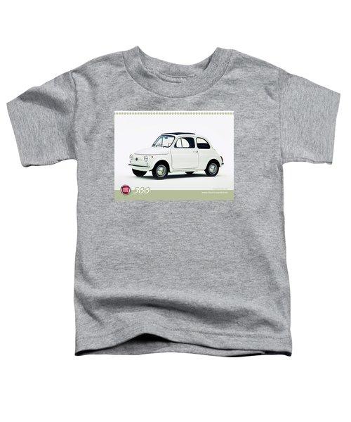 Fiat 500 Toddler T-Shirt