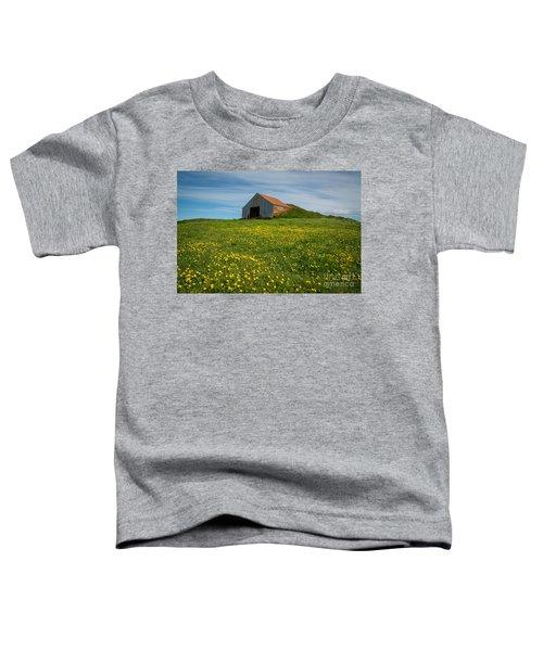 Field Of Yellow  Toddler T-Shirt