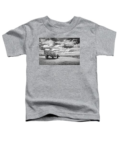 Fields And Clouds Toddler T-Shirt