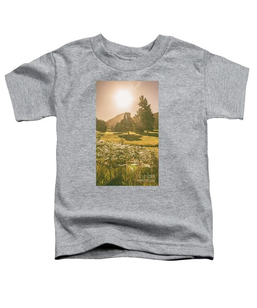Fields Of Springtime Toddler T-Shirt