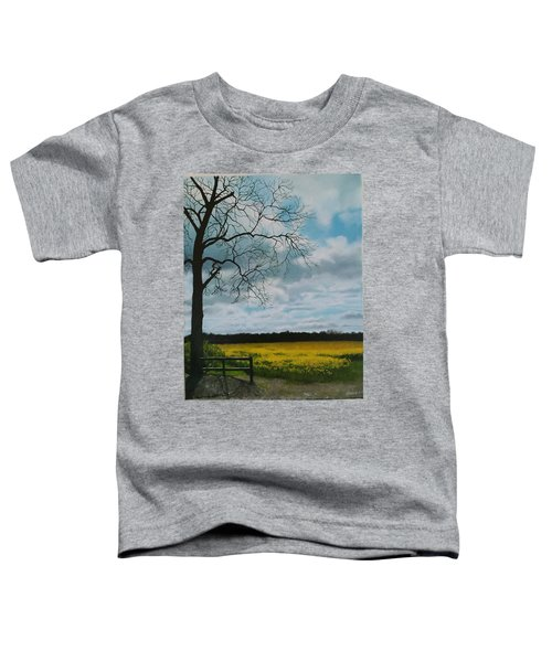 Fields Of Yellow Toddler T-Shirt