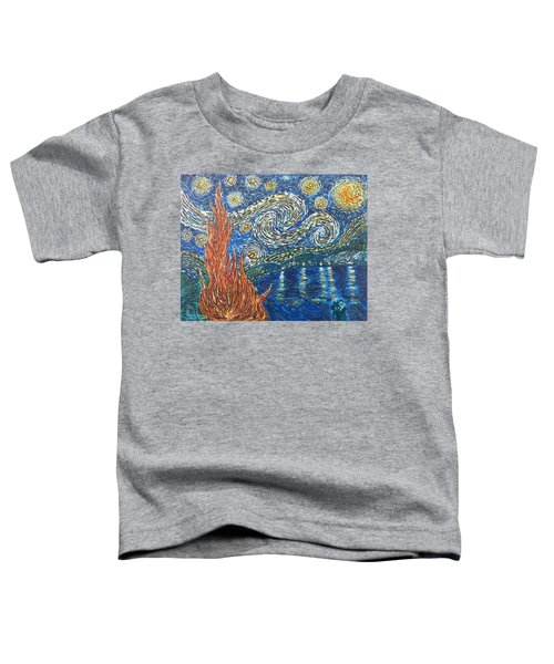 Fiery Night Toddler T-Shirt