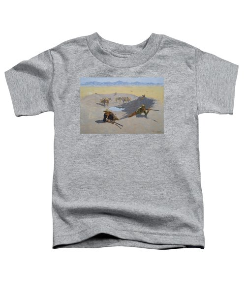 Fight For The Waterhole Toddler T-Shirt