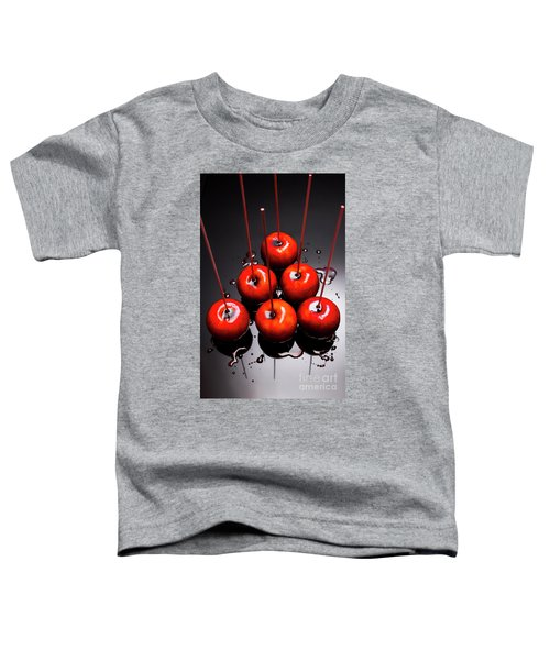 Fine Art Toffee Apple Dessert Toddler T-Shirt