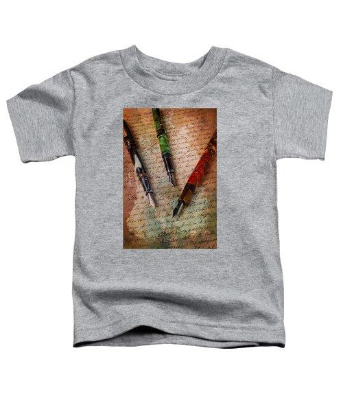 Fine Fountain Pens Toddler T-Shirt