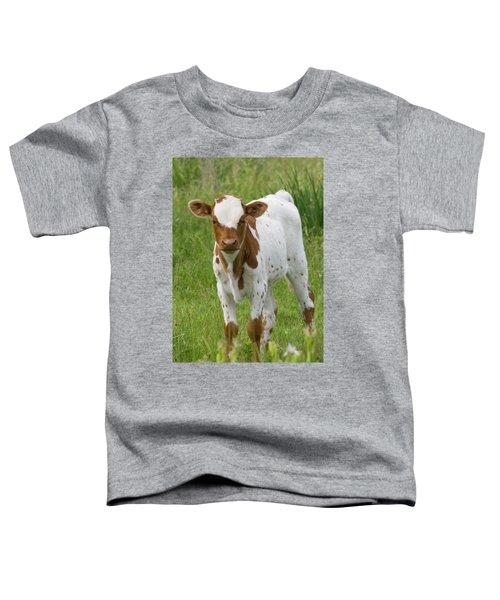 Fine Looking Longhorn Calf Toddler T-Shirt