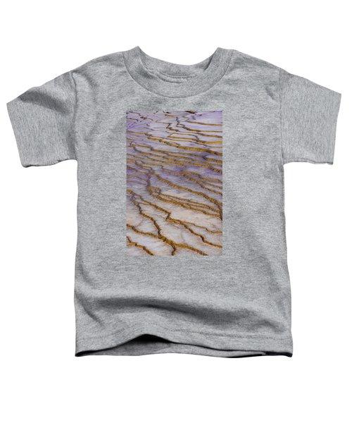 Fingerprint Of The Earth Toddler T-Shirt