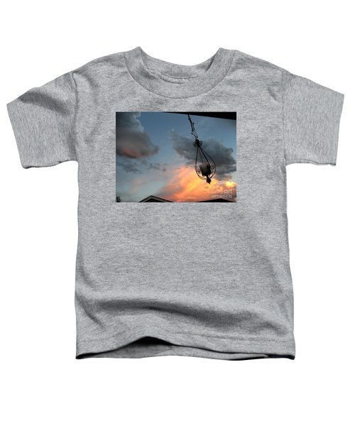 Fire In The Clouds Toddler T-Shirt
