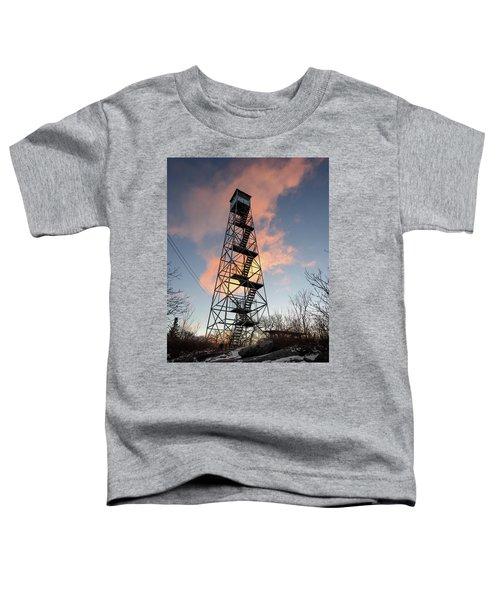 Fire Tower Sky Toddler T-Shirt