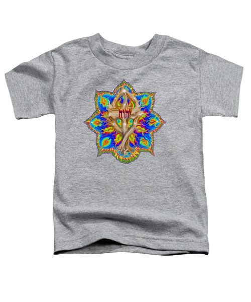 Fire Tree With Yhwh Toddler T-Shirt