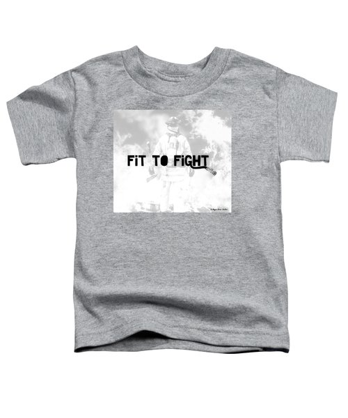 Fireman In White Toddler T-Shirt