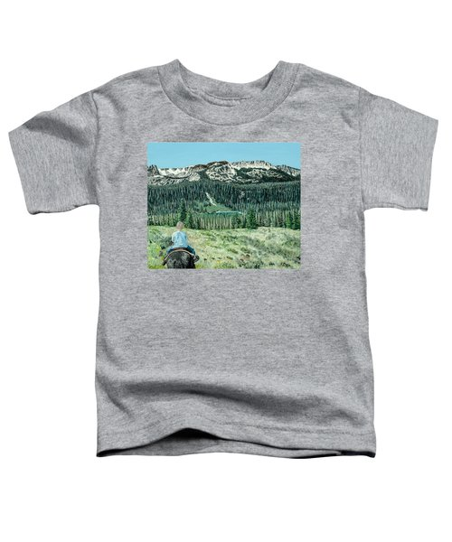 First Ride Toddler T-Shirt