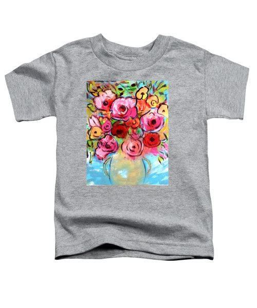 First Roses Of Summer Toddler T-Shirt