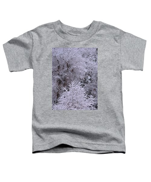 First Snow I Toddler T-Shirt