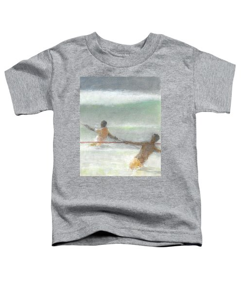 Fishermen Hauling Nets Toddler T-Shirt