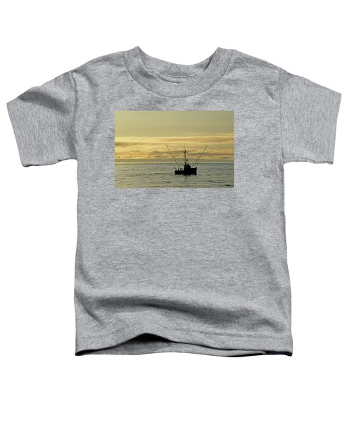 Fishing Off Santa Cruz Toddler T-Shirt