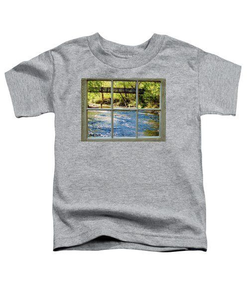Fishing Window Toddler T-Shirt