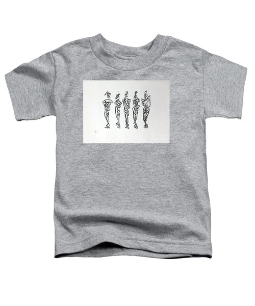 Five Muses Toddler T-Shirt