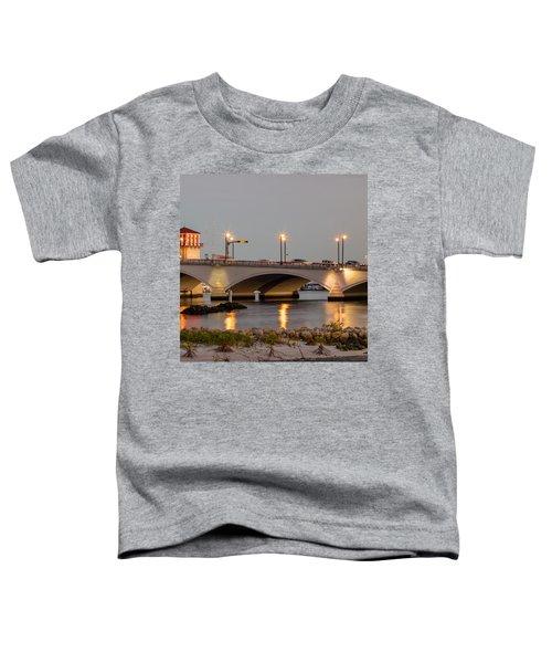 Flagler Bridge In Lights Iv Toddler T-Shirt