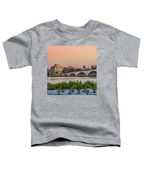 Flagler Bridge In The Evening I Toddler T-Shirt