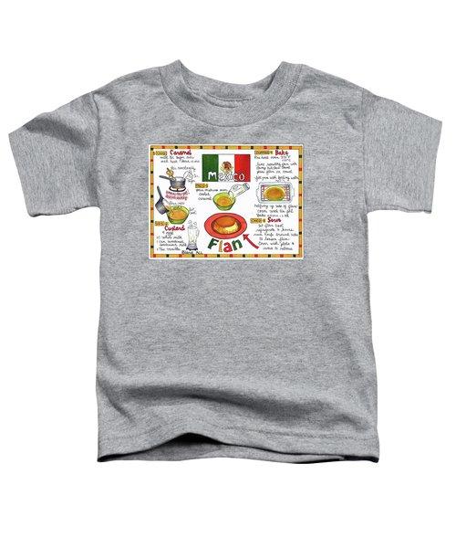 Flan Toddler T-Shirt