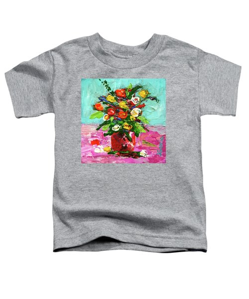 Floral Arrangement Toddler T-Shirt