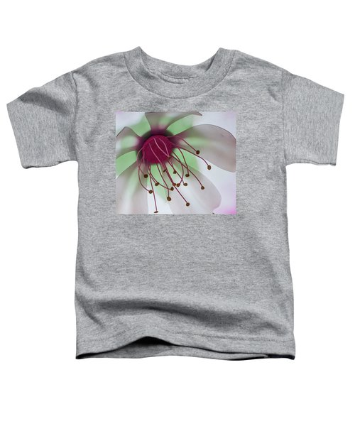 Flower Art Toddler T-Shirt