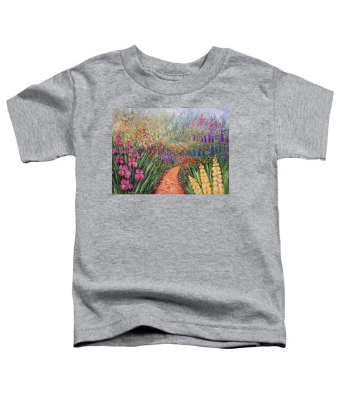 Flower Gar02den  Toddler T-Shirt