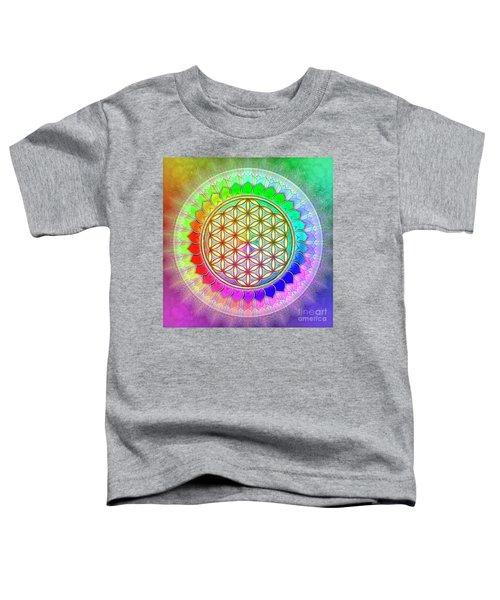 Flower Of Live - Rainbow Lotus 2 Toddler T-Shirt