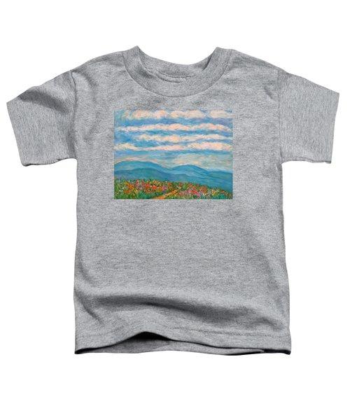 Flower Path To The Blue Ridge Toddler T-Shirt