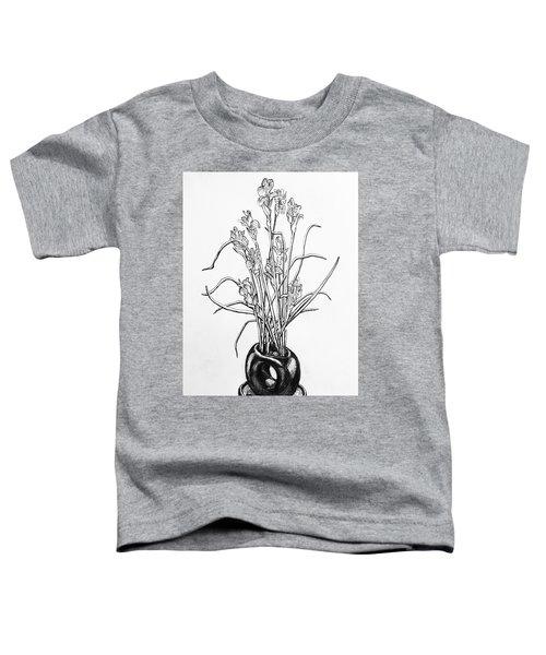 Flower Pot Toddler T-Shirt