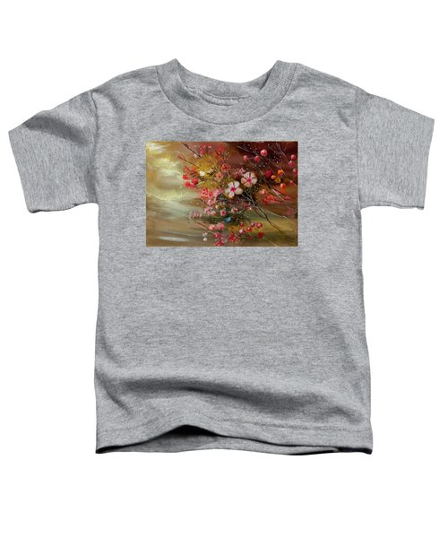 Flowers 2 Toddler T-Shirt