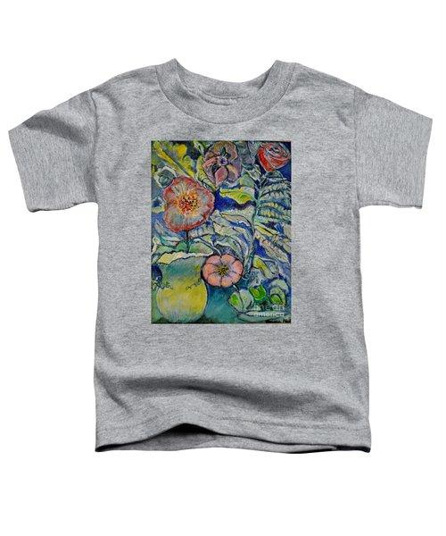 Flowers Gone Wild Toddler T-Shirt