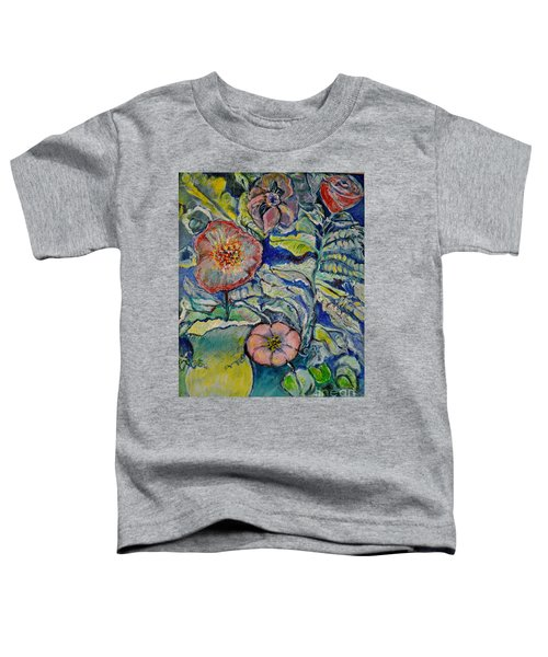 Flowers Gone Wild Toddler T-Shirt