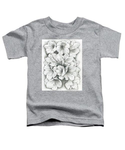 Clivia Flowers Pencil Toddler T-Shirt