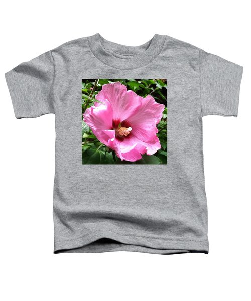 #flowers #pink #floral Toddler T-Shirt