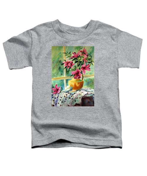 Flowers Shells And Lace Toddler T-Shirt