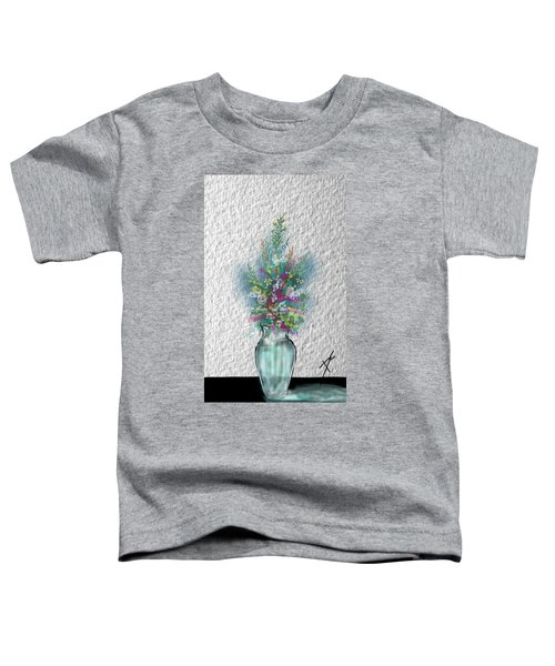Flowers Study Two Toddler T-Shirt