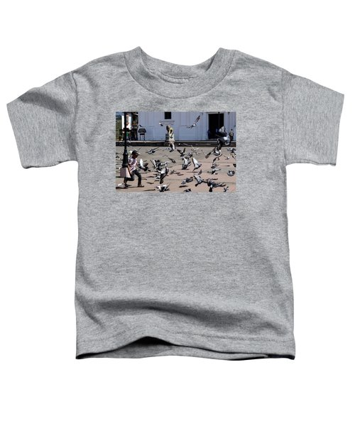 Fly Birdies Fly Toddler T-Shirt