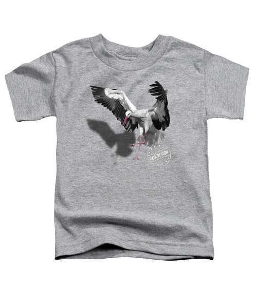 Flying Stork No 01 Toddler T-Shirt