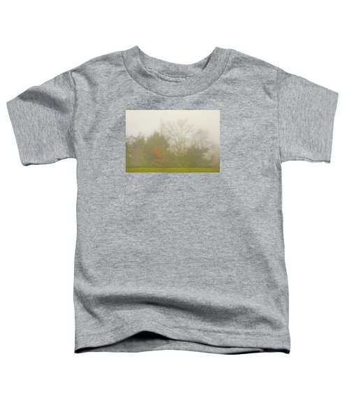 Fog In Autumn Toddler T-Shirt