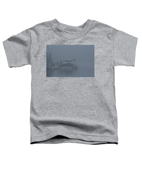 Fogged In At Owls Head Toddler T-Shirt