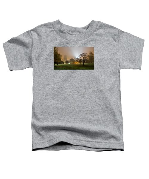 Foggy Cathedral Toddler T-Shirt