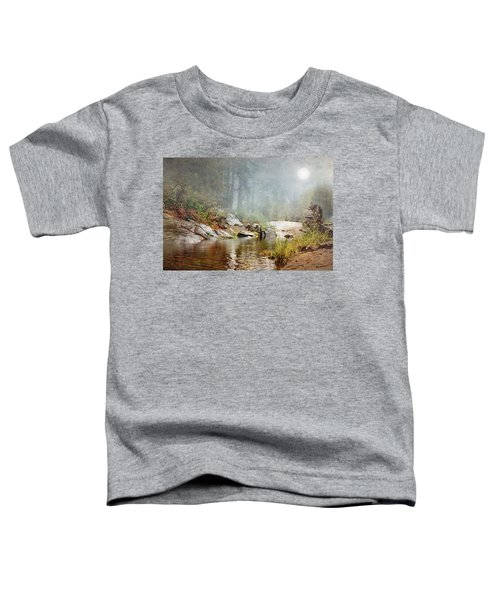 Foggy Fishin Hole Toddler T-Shirt